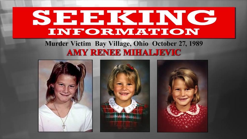 Lake Erie Murders, Amy Mihaljevic, FBI Poster