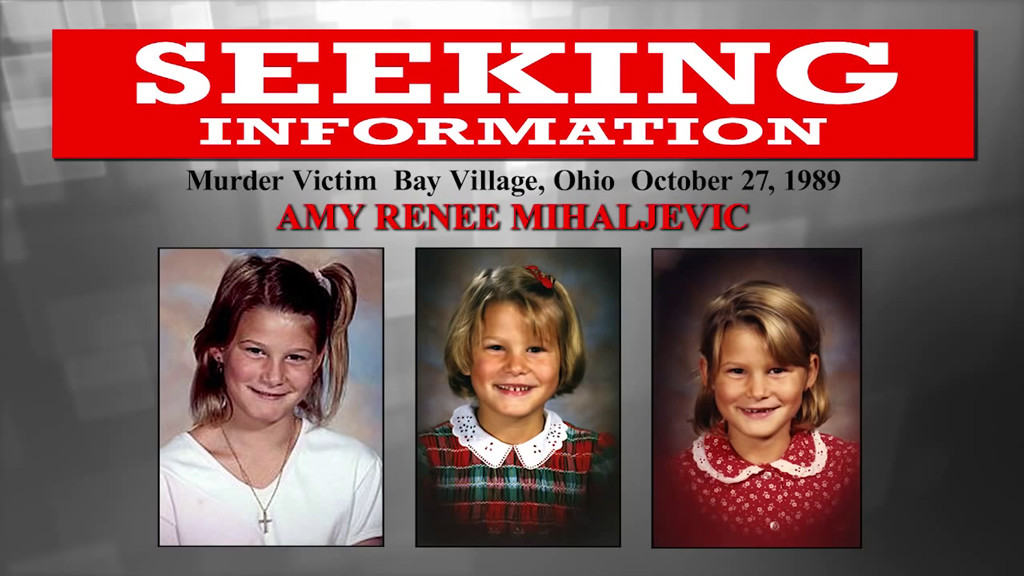 Lake Erie Murders, Amy Mihaljevic, FBI Poster