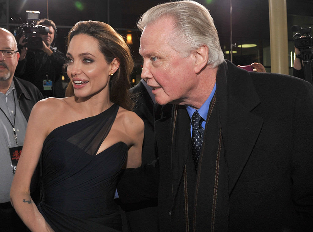 Angelina Jolie, Jon Voight, In the Land of Blood and Honey Premiere