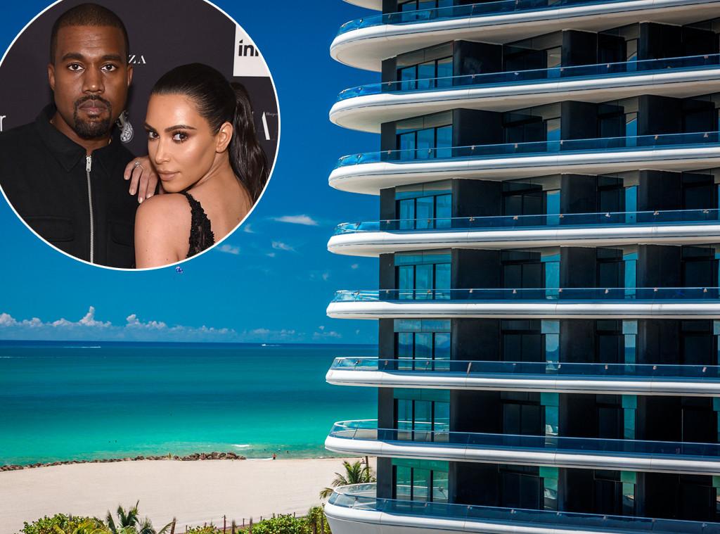Kim Kardashian, Kanye West, Miami Condo, Faena House