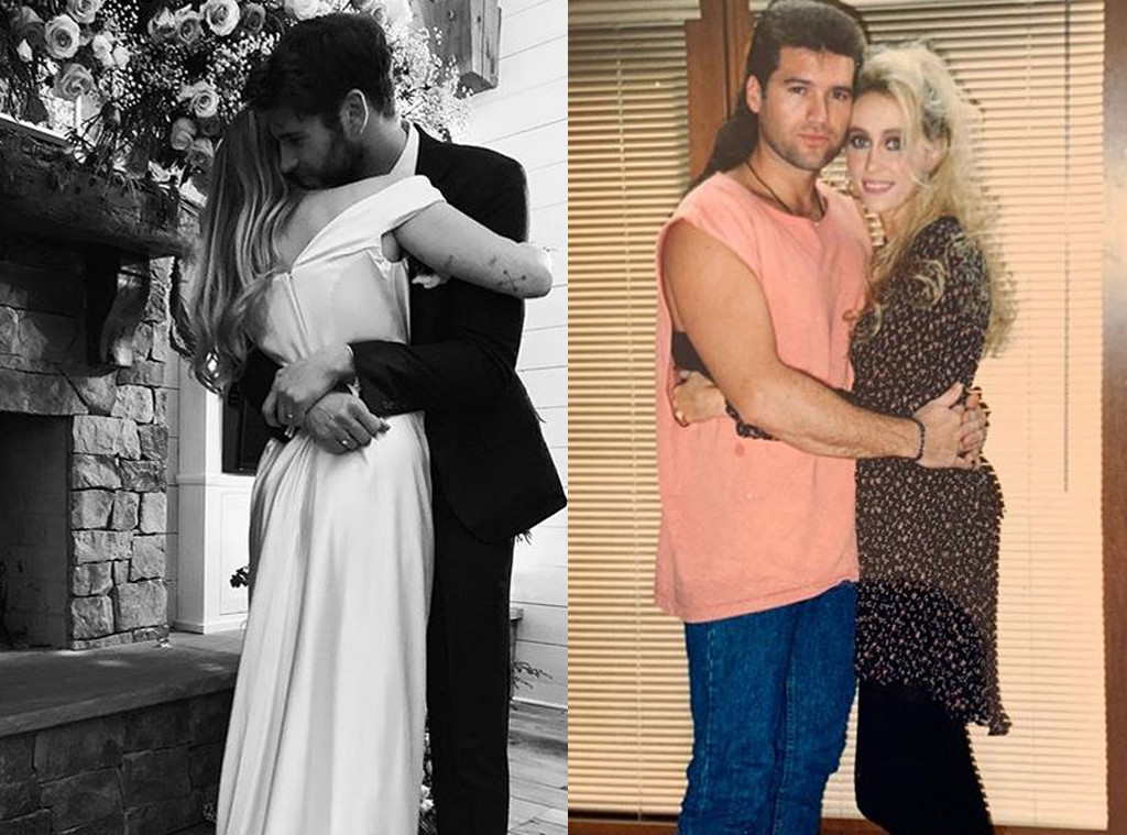 Miley Cyrus, Liam Hemsworth, Billy Ray Cyrus, Tish Cyrus - Instagram