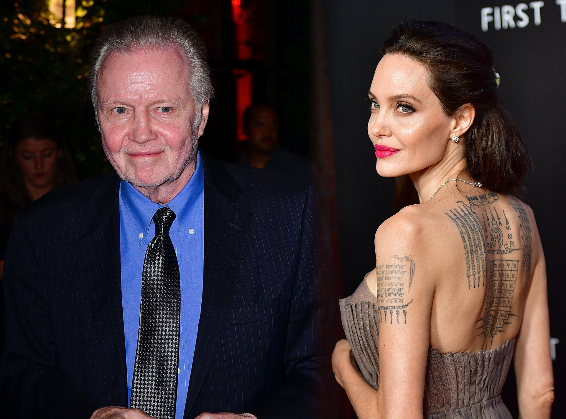Angelina Jolie, Jon Voight, First They Killed My Father Premiere