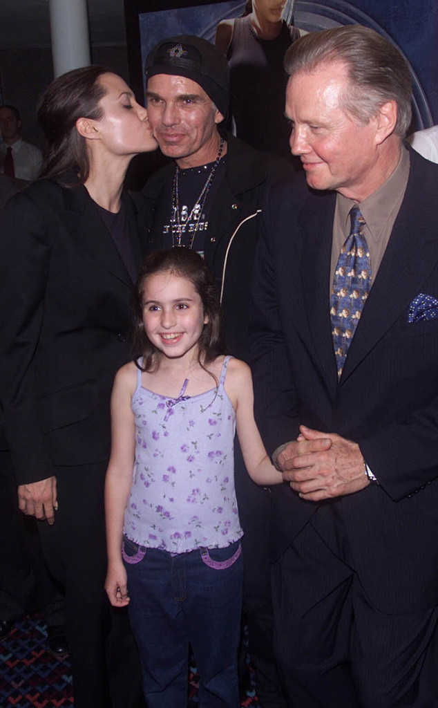 Angelina Jolie, Jon Voight, Billy Bob Thornton, 2001 Tomb Raider Premiere