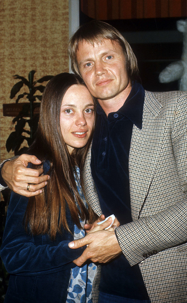 Jon Voight, Marcheline Bertrand, 1977