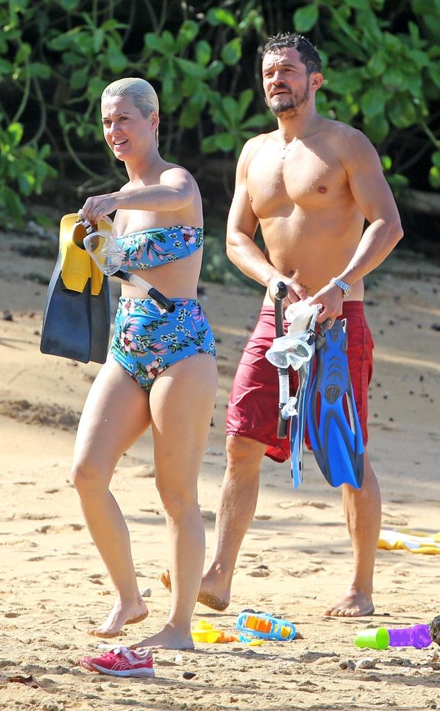 Orlando Bloom, Katy Perry, Hawaii