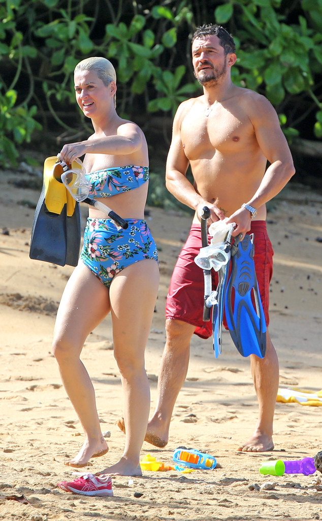 Orlando Bloom, Katy Perry, Hawaii
