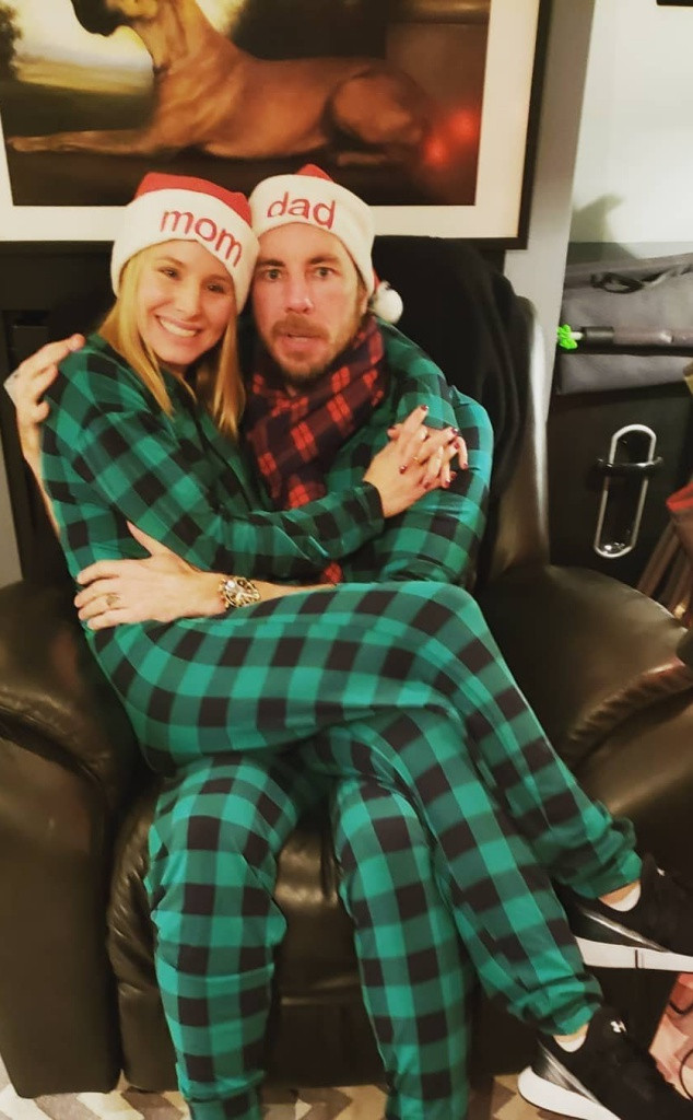 Kristen Bell, Dax Shepard, Christmas 2018