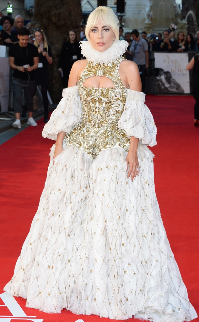 3322b797634 2018 Venice Film Festival from Lady Gaga's Most Daring Red Carpet Looks of  All Time | E! News