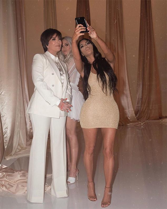 Kim Kardashian, Christmas Party, 2018