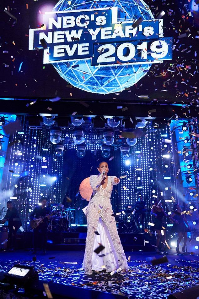 Jennifer Lopez, New Year's Eve