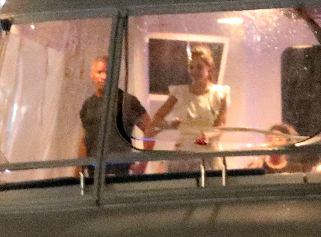 Katie Holmes, Jamie Foxx, yacht
