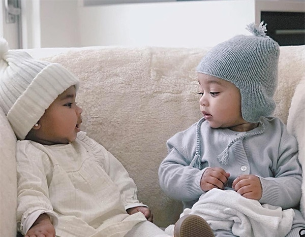 Baby Talk True Thompson And Chicago West Chat It Up In