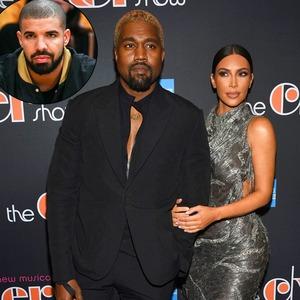 Kim Kardashian, Drake, Kanye West