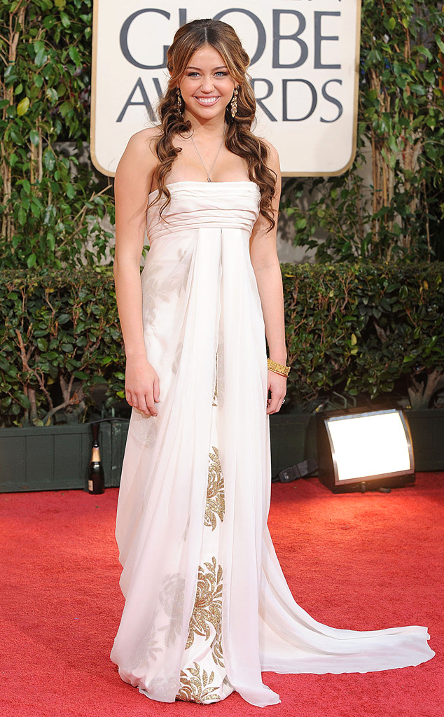 Miley Cyrus, 2009 Golden Globe Awards