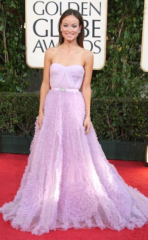 Olivia Wilde, 2009 Golden Globe Awards