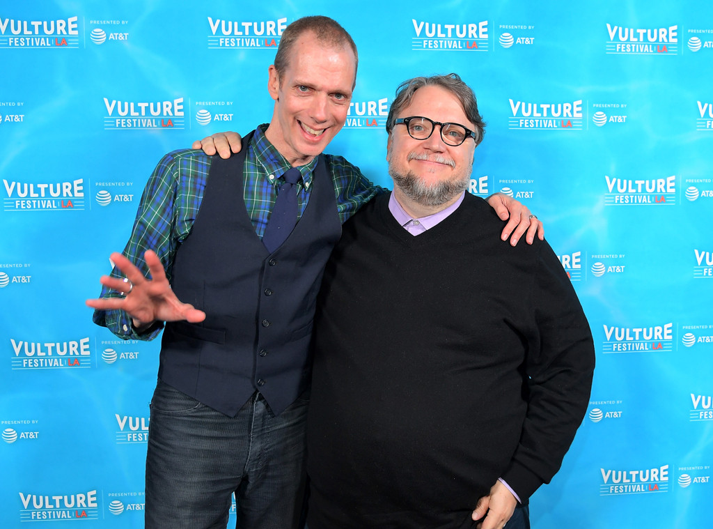 Doug Jones, Guillermo Del Toro