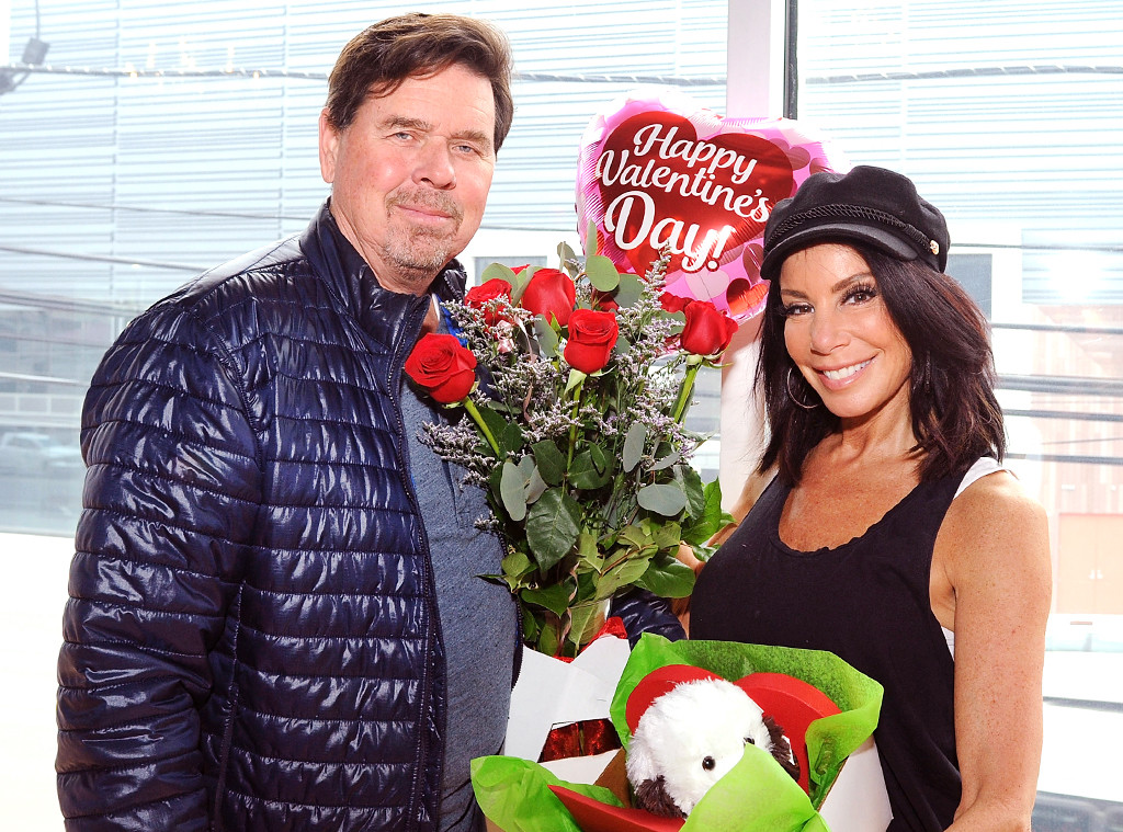 Danielle Staub, Marty Caffrey, 2018 Valentine's Day