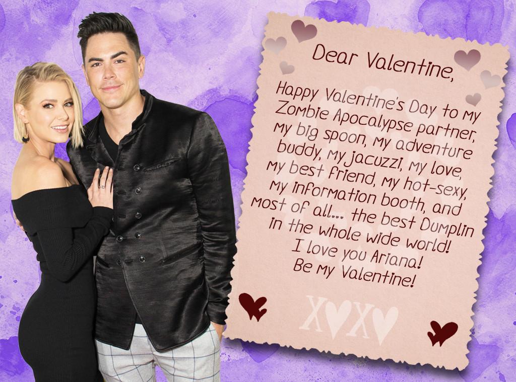 Vanderpump Rules Valentine's, Tom Sandoval, Ariana Madix