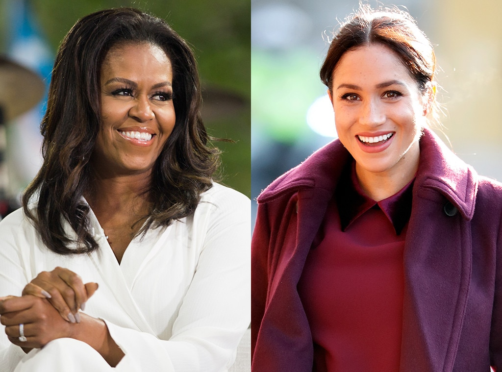 Michelle Obama Meghan Markle
