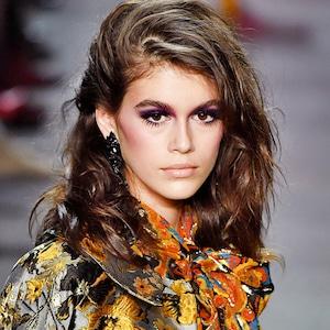 ESC: NYFW Best Beauty, Kaia Gerber