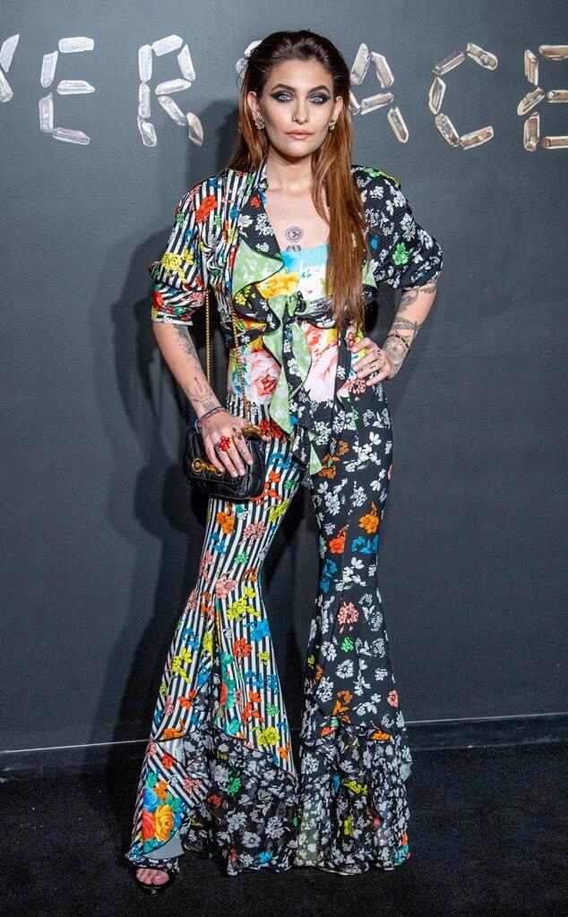 Paris Jackson, Versace Show