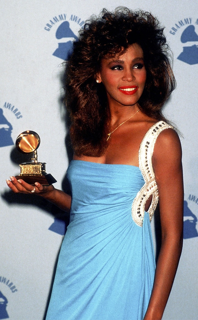 Whitney Houston, First Grammys