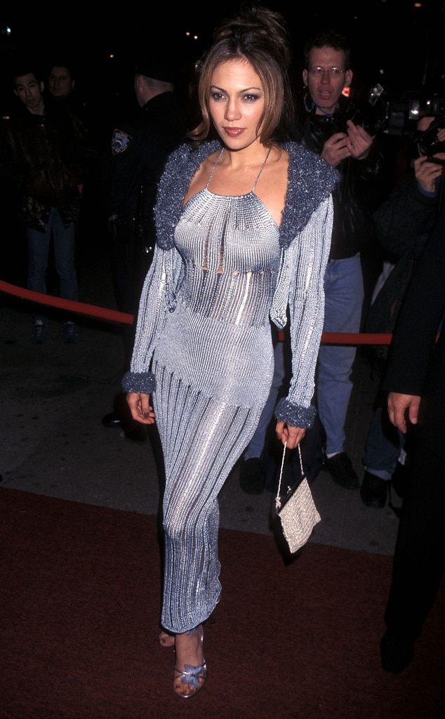 """Jennifer Lopez -  The """"Jenny From the Block"""" star turned heads when she made her Grammys debut at the 40 th annual award show in 1998."""