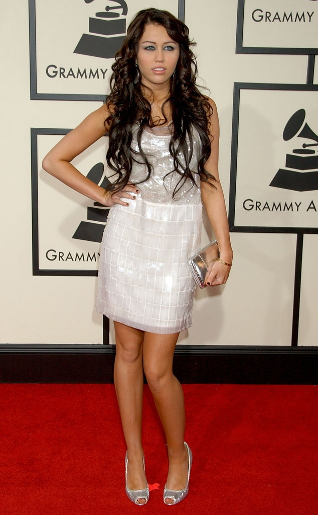 Miley Cyrus, First Grammys