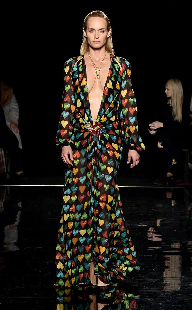 Amber Valletta, Versace Show