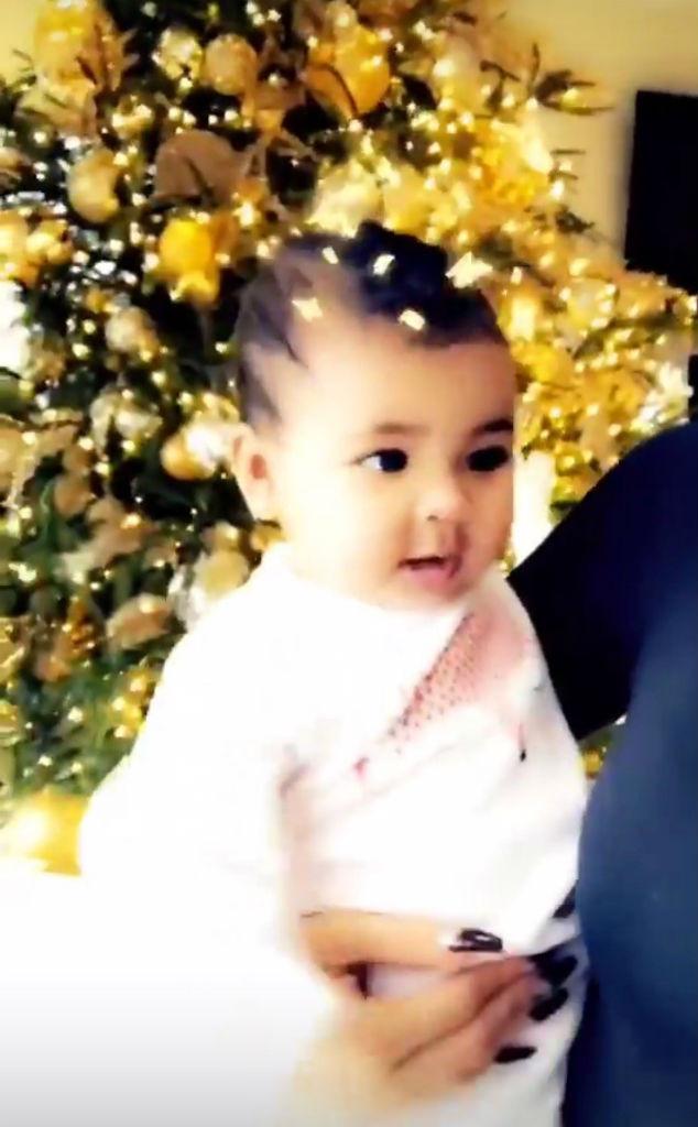 platinum blonde khloe kardashian gets into the holiday spirit with true thompson