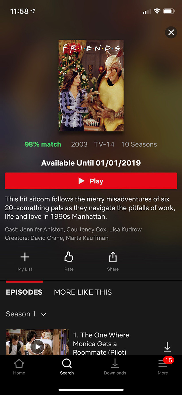 Friends, Netflix