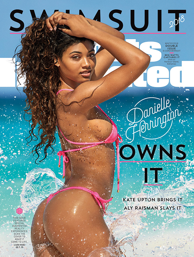 a76306d1d6 Danielle Herrington Covers Sports Illustrated Swimsuit Issue 2018 ...