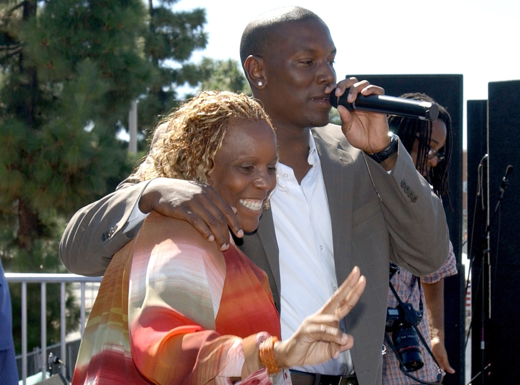 Priscilla Murray, Tyrese Gibson, Mother