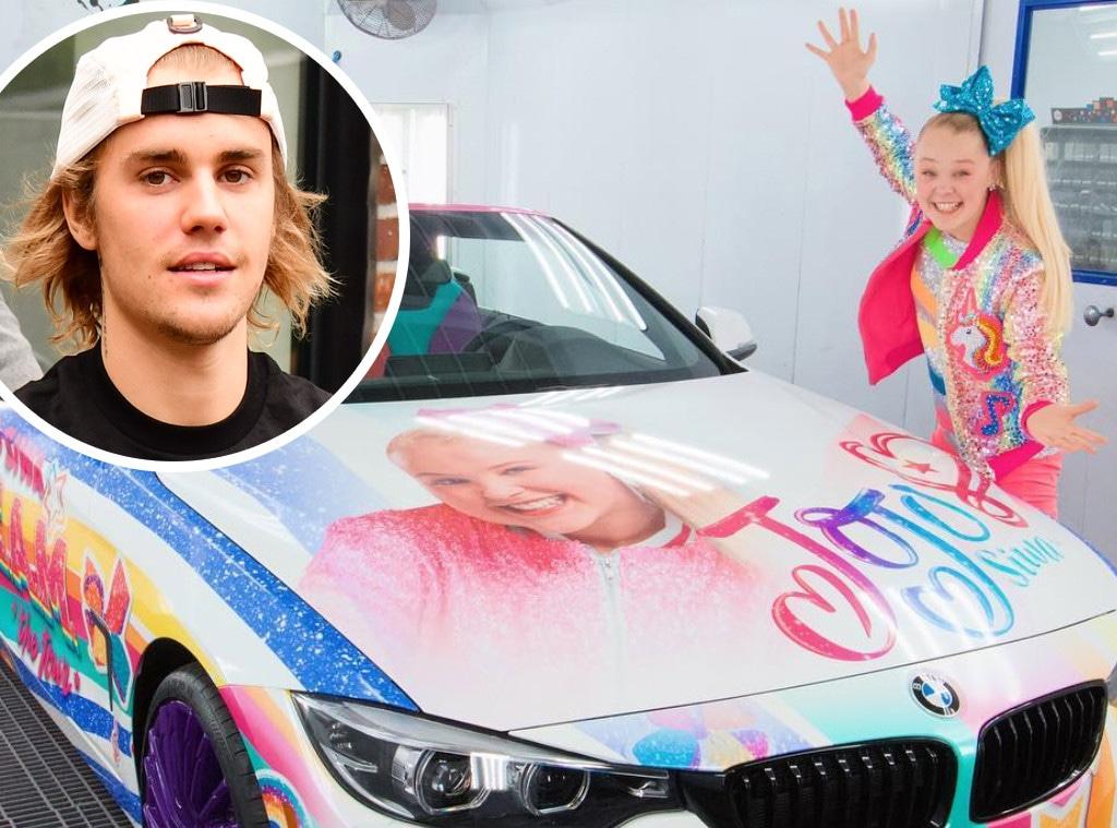 Jojo Siwa, Justin Bieber