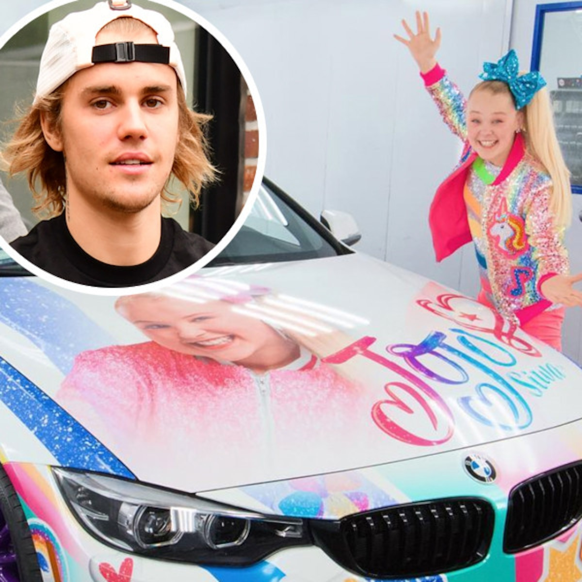 Justin Bieber Reaches Out To Youtuber Jojo Siwa After Shading Car