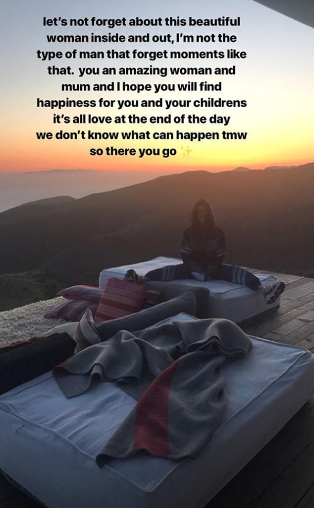 Younes Bendjima, Kourtney Kardashian, Throwback, Instagram