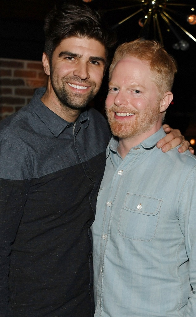 Park MGM - Jesse Tyler Ferguson  and  Justin Mika  attend the  Lady Gaga  Residency After-Party at On The Record Speakeasy and Club.