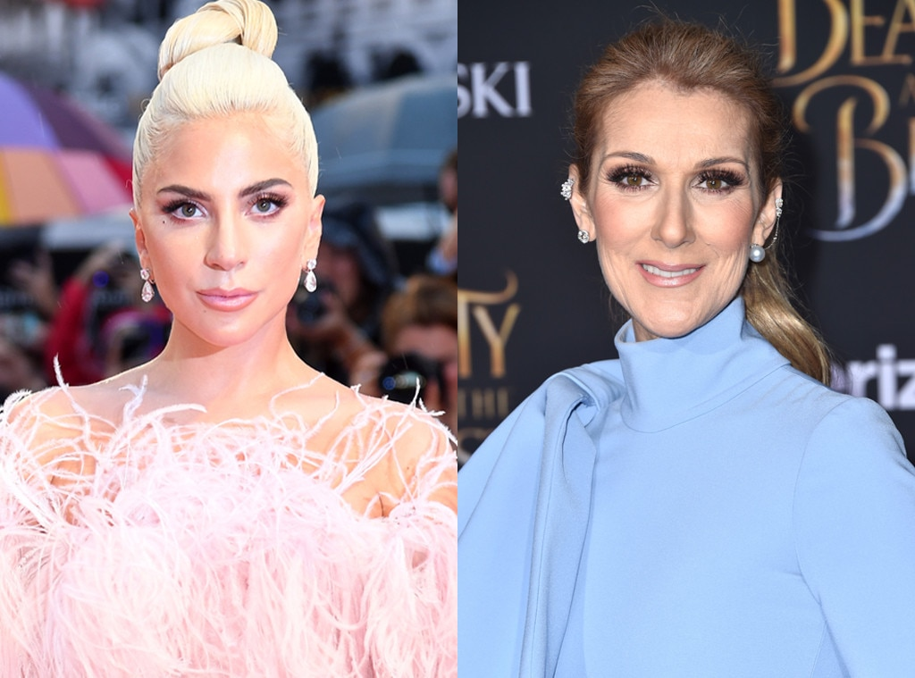 Watch Céline Dion Rock Out at Lady Gaga's Las Vegas Show