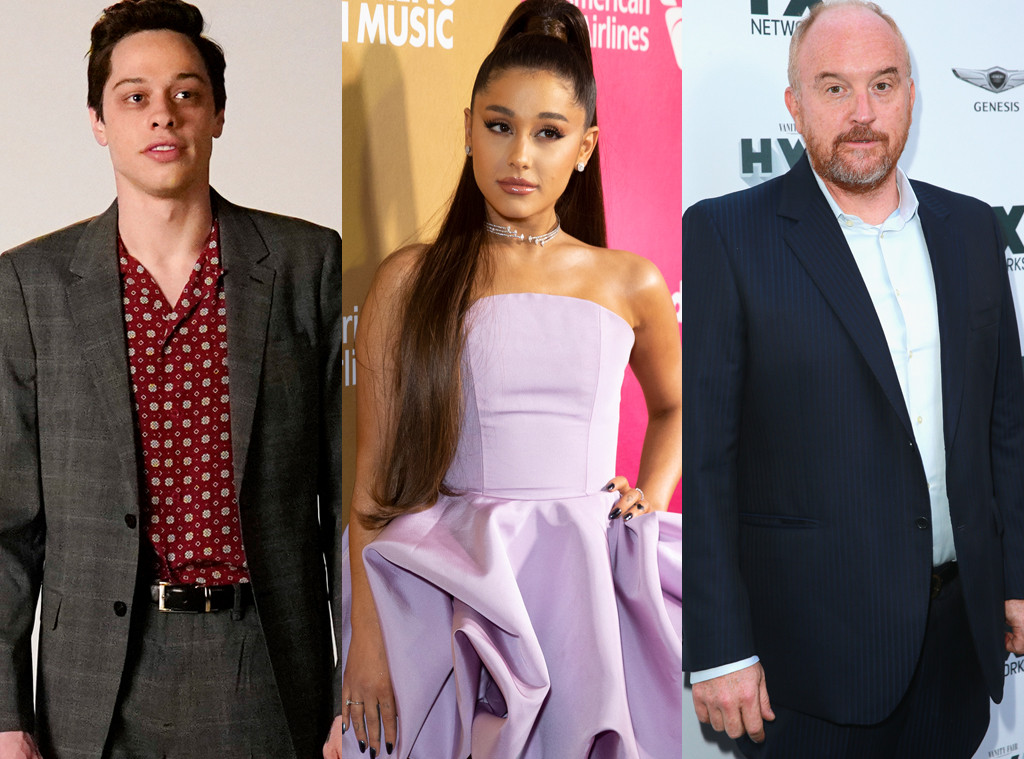 Pete Davidson, Ariana Grande, Louis C.K.