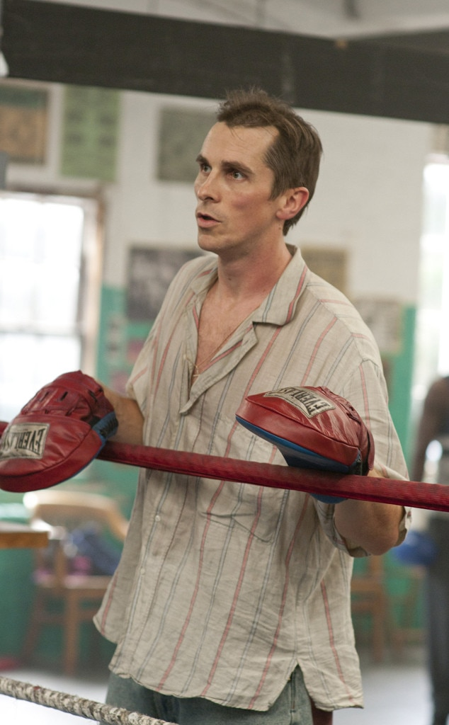 "The Fighter  -  Bale won a Best Supporting Actor Oscar (and all the other awards) for his role as Dicky Eklund, a once-promising boxer turned drug addict turned ex-con trainer trying to make amends to his still-promising half-brother Micky Ward in the 2010 film, based on a true story. ""I have no goal of seeing if I can become invisible one day, eat so little that I disappear,"" Bale  assured MTV News  at the time regarding his 30-pound weight loss."