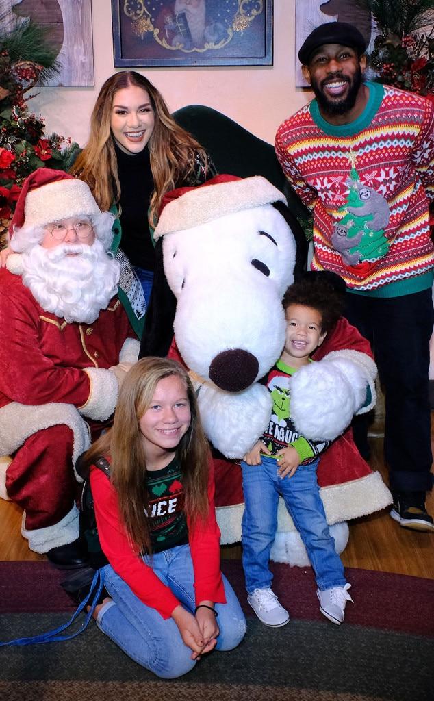 "Allison Holker, Stephen ""tWitch"" Boss, Christmas 2018"