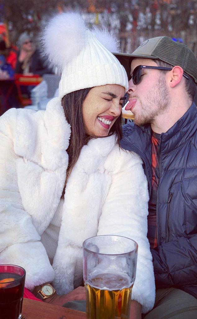 Nick Jonas, Priyanka Chopra, Switzerland