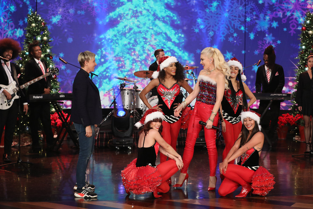 Ellen Degeneres Show, Gwen Stefani