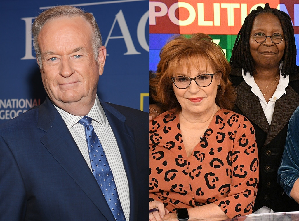 Bill O'Reilly, Joy Behar, Whoopi Goldberg, The View showdown