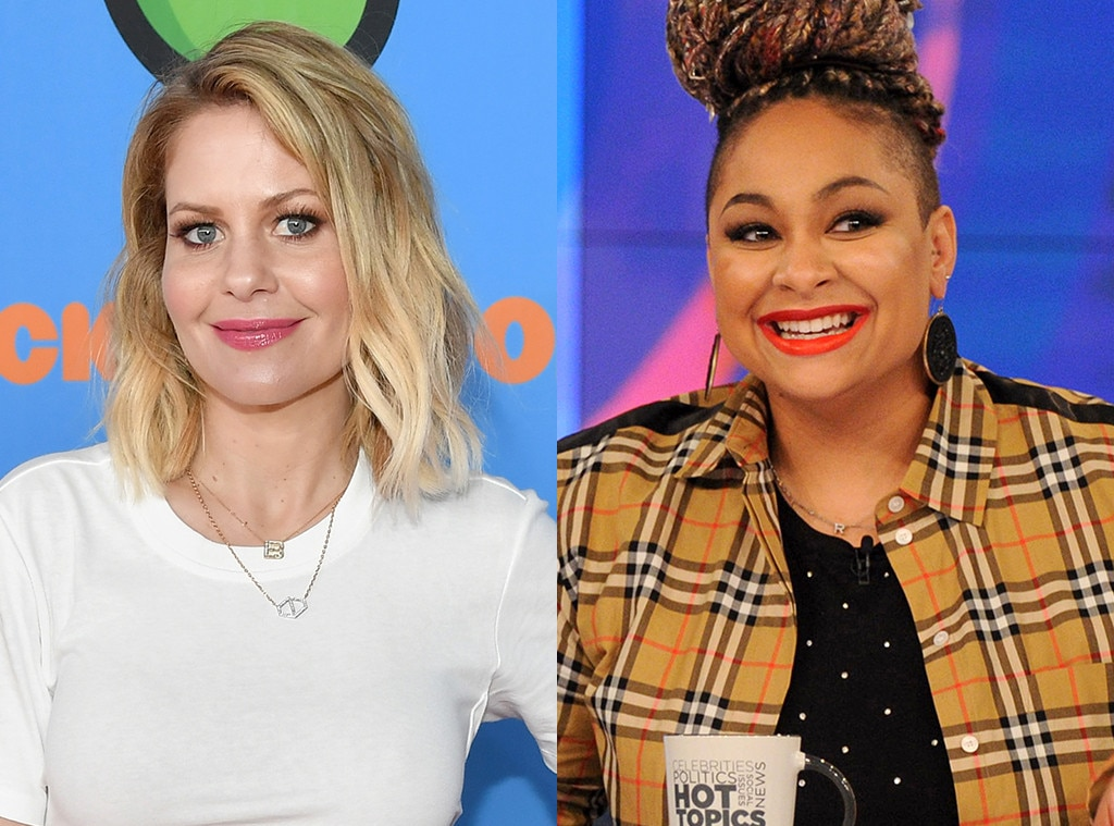 Candace Cameron Bure vs. Raven-Symone -  During a July 2015 Hot Topics  segment , conversation turned to a bakery that refused to make a wedding cake for a lesbian couple and had been subsequently fined $135,000. Candace Cameron Bure  felt the bakery owners were well within their First Amendement rights, while  Raven-Symone  argued that it was no different than when business owners used to refuse service to African-Americans purely based on the color of their skin.