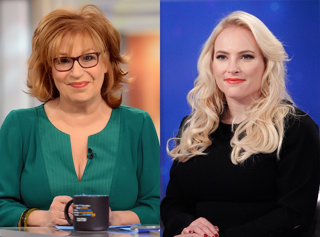 Joy Behar vs. Meghan McCain, Part 2 -  Nearly 10 months later, it was time for round two between  The View 's resident ideologues when a tribute to late President  George H.W. Bush  turned to  Joy Behar  explicitly comparing his record on environmental issues to President  Donald Trump 's. And that didn't sit well with  Meghan McCain .
