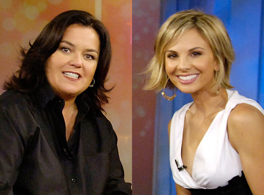Rosie O'Donnell vs. Elisabeth Hasselbeck -  The one that started it all. Though there had been tense moments here and there during  The View 's first nine seasons—we're looking at you and your impromptu departure announcement,  Star Jones —but nothing like what went down during  Rosie O'Donnell 's first of two one-and-done seasons, the show's 10 th , when she and right-leaning co-host  Elisabeth Hasselbeck  came to blows  over, well, their repeated coming to blows. As O'Donnell took issue how the media portrayed their repeated political dust-ups, the May 2007 segment devolved into chaos and despite  Joy Behar 's best efforts to throw to commercial, the producers instead went the split-screen route and history was made. The incident, especially the producers' handling of it, would prompt O'Donnell to leave her post as moderator the following day.