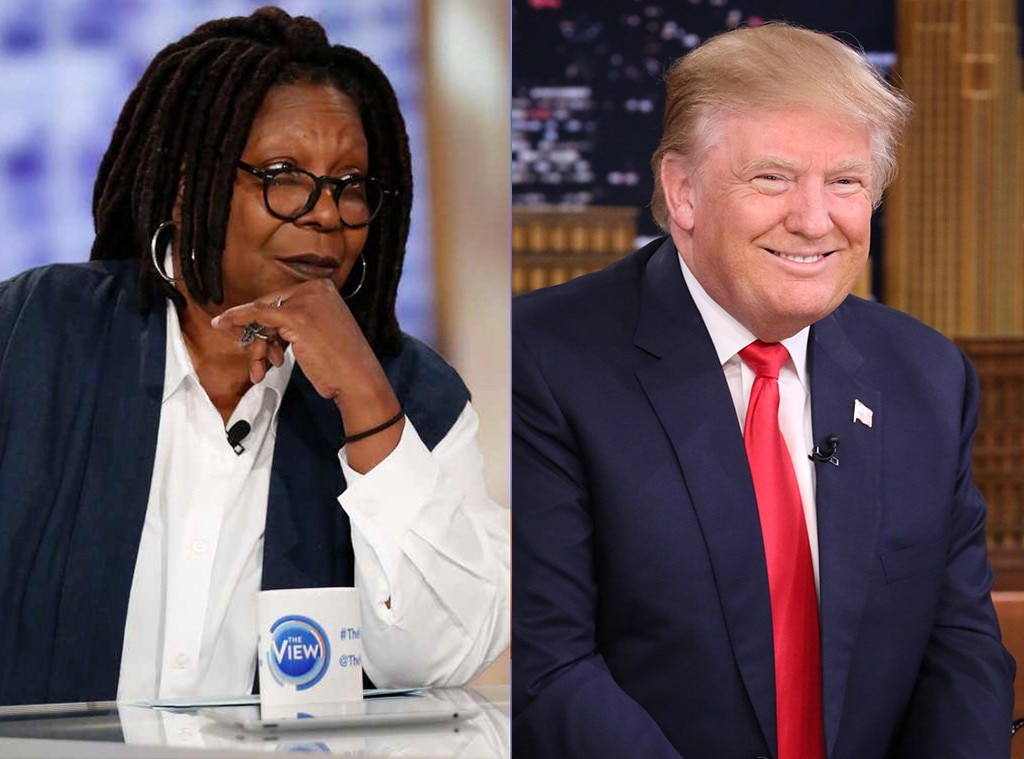 Whoopi Goldberg vs. Donald Trump -  Back in March 2011, before he was president of the United States, Donald Trump went on The View where  he was grilled  over his insistence at the time that President Barack Obama produce his birth certificate and prove he was born in the country. As Trump insisted that there were no photos of Obama as a child, that no one remembered him as a child, and alluded that he was hiding something, Whoopi Goldberg lost her cool.