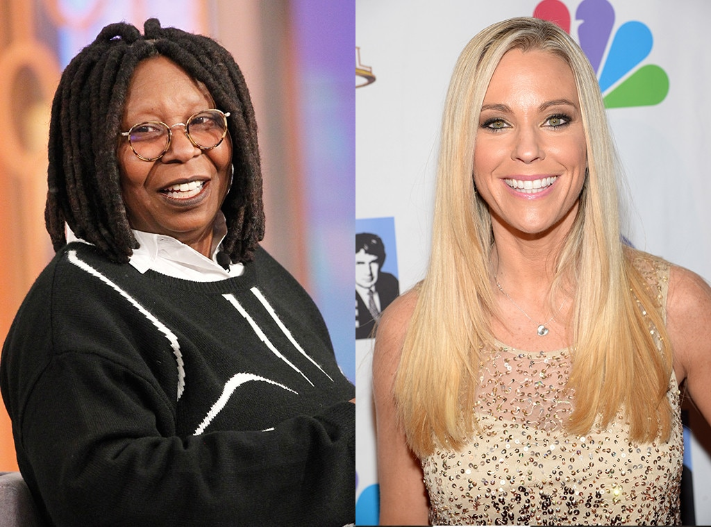 Whoopi Goldberg vs. Kate Gosselin -  When  The View  welcome TLC reality star  Kate Gosselin  as guest co-host in September 2009, she quickly became  the topic of conversation  herself when talk turned to her  still ongoing custody battle  with ex-husband  Jon . As she essentially admitted to breaking the terms of their custody arrangement by going to Jon's house during his court-ordered time with the kids to check up on a babysitter she'd never met,  Whoopi Goldberg  couldn't hold back how she really felt.