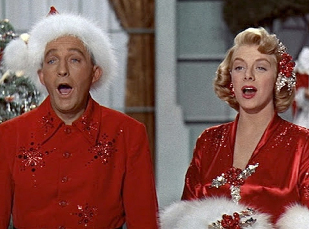 Bing Crosby White Christmas.White Christmas From The Best Christmas Movies Ever E News